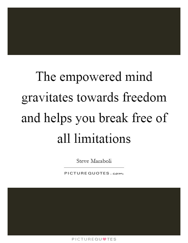 The Limits of Our Freedom