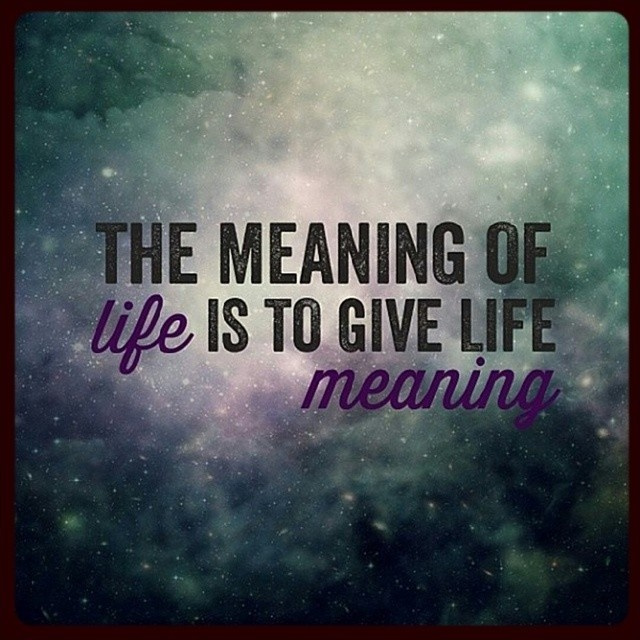 Meaningful Life Quotes Captivating Meaningful Quote  Quote Number 561827  Picture Quotes