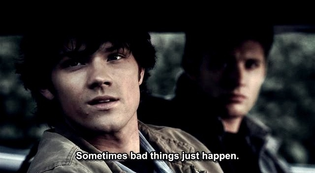 Supernatural Meaningful Quote 1 Picture Quote #1