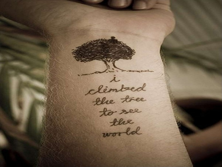 Meaningful Quote Tattoos For Life | Quote Number 561911 ...