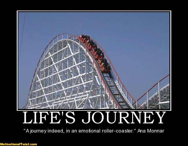 Funny Quote About Lifes Journey 1 Picture Quote #1