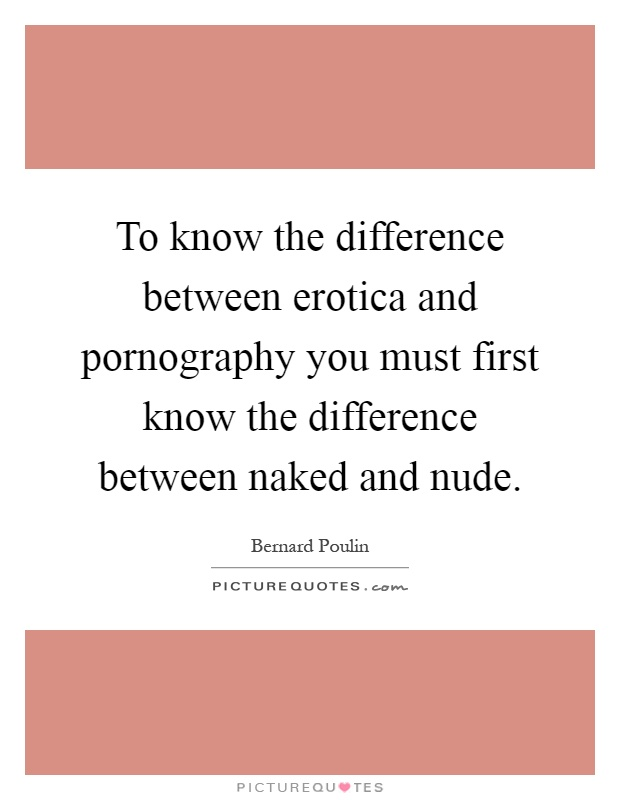 difference between nude and naked