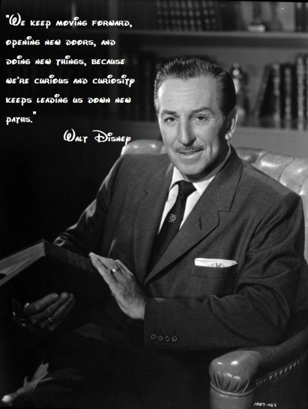 Walt Disney Quote 1 Picture Quote #1