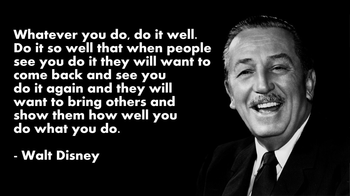 Walt Disney Quote On Leadership 2 Picture Quote #1