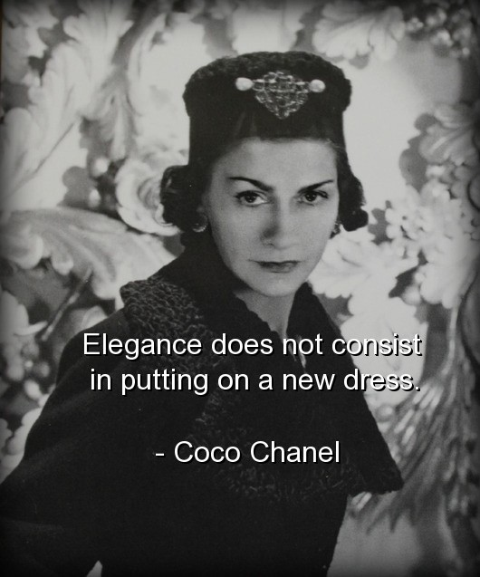 Coco Chanel Fashion Quote 2 Picture Quote #1