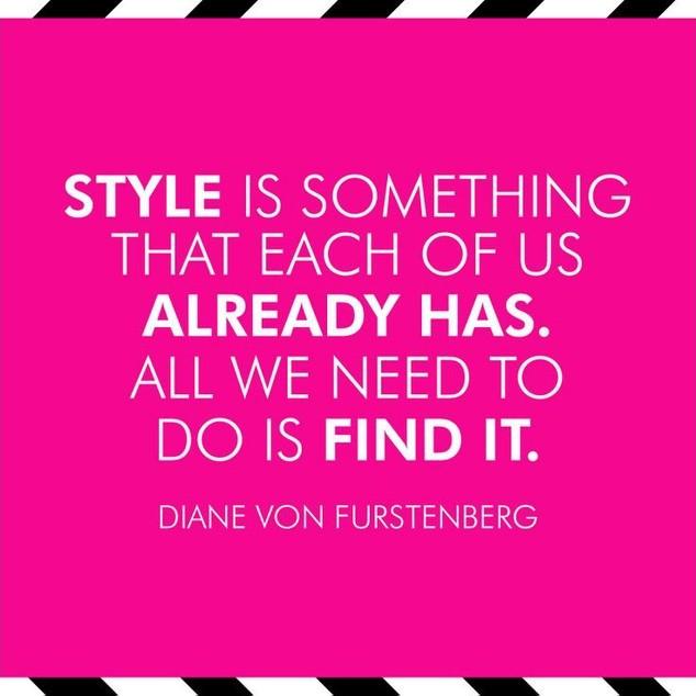 Diane Von Furstenberg Fashion Quote On 1 Picture Quote #1