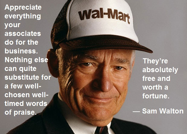 Sam Walton Business Quote 4 Picture Quote #1