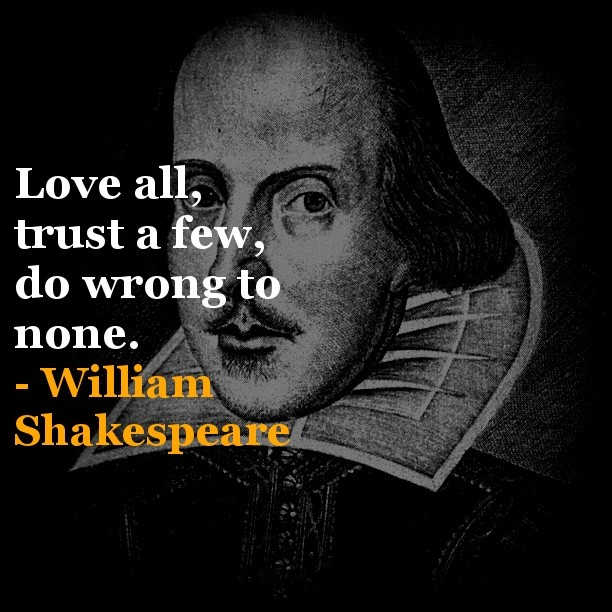 William Shakespeare Quote 1 Picture Quote #1