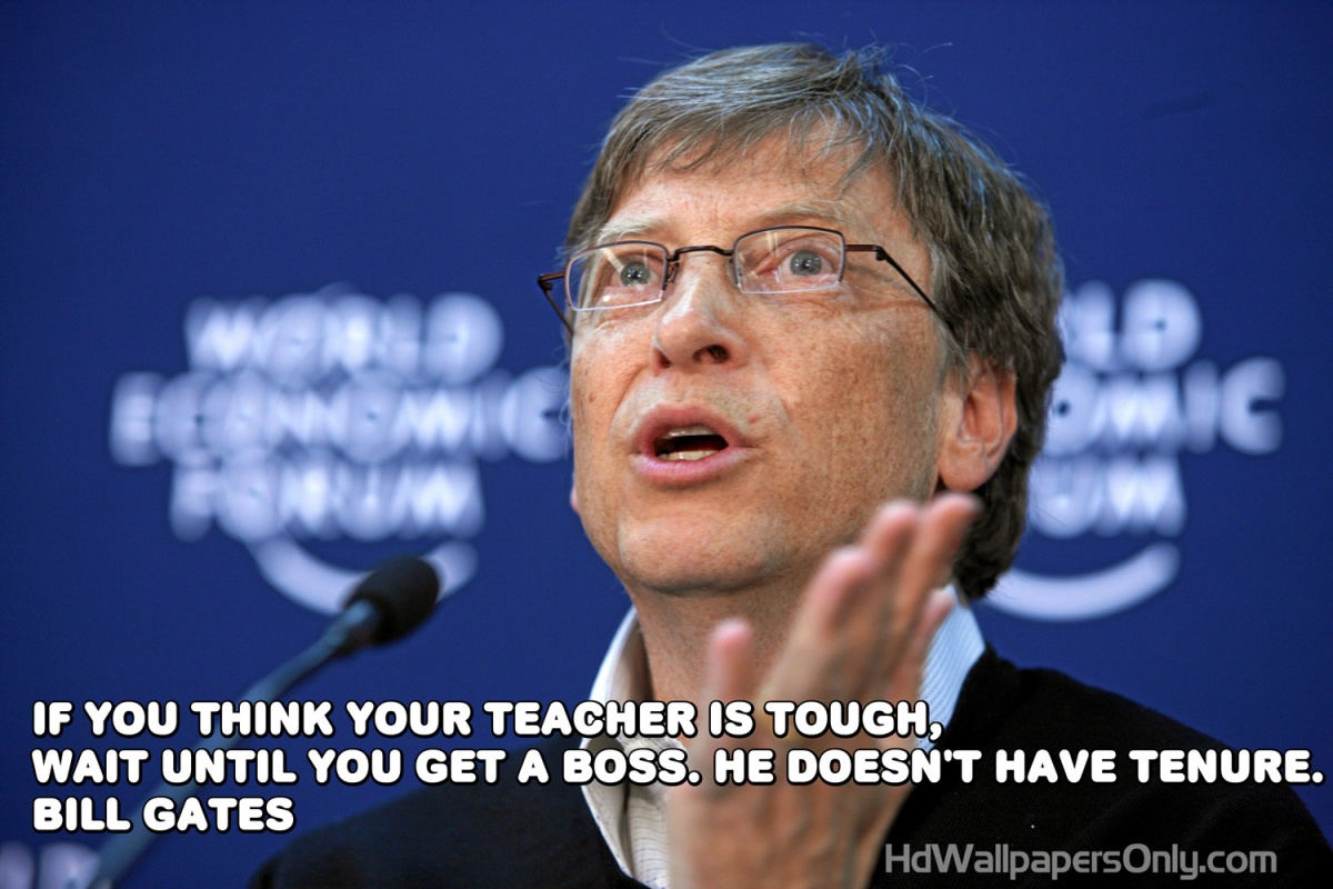 Bill Gates Quote 2 Picture Quote #1