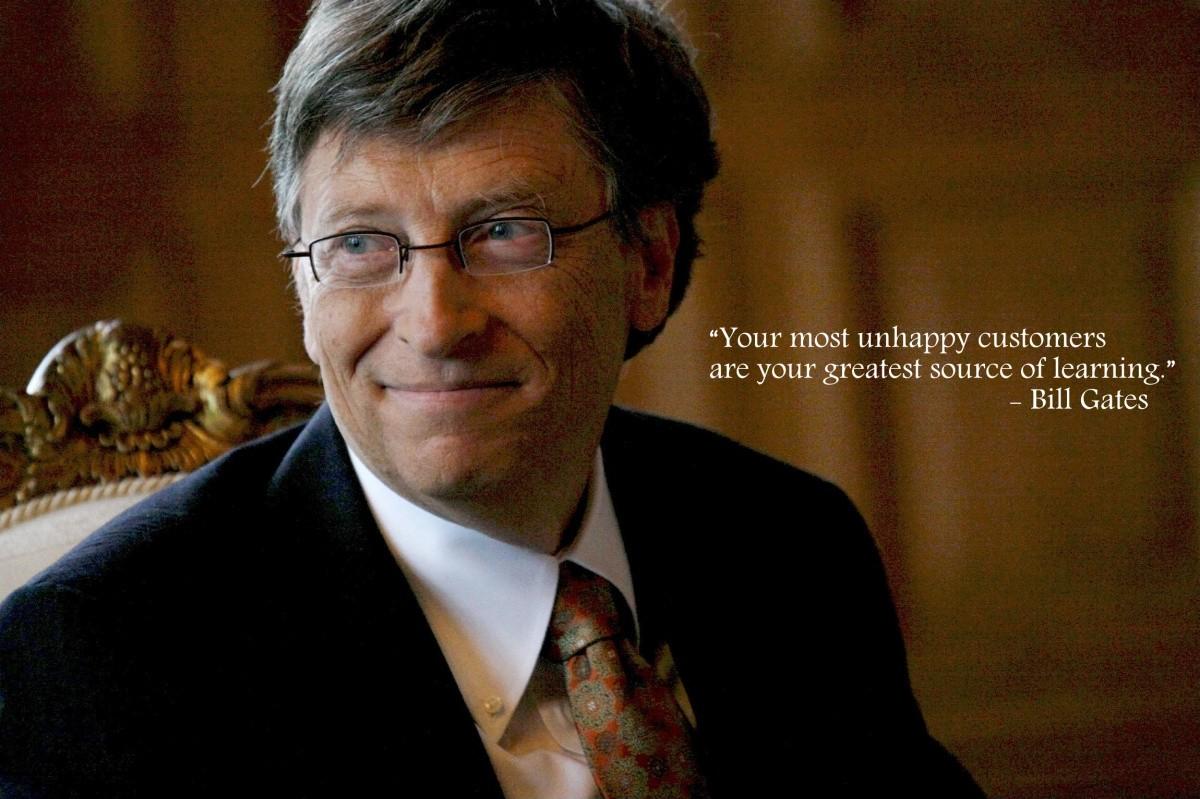 Bill Gates Quote 3 Picture Quote #1