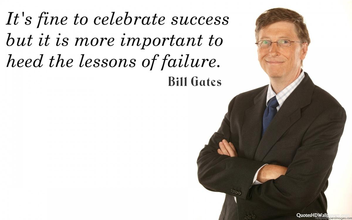 Bill Gates Quote 4 Picture Quote #1