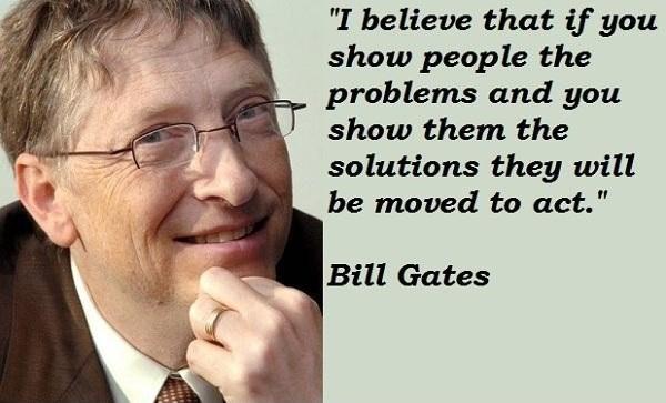 Bill Gates Quote 5 Picture Quote #1