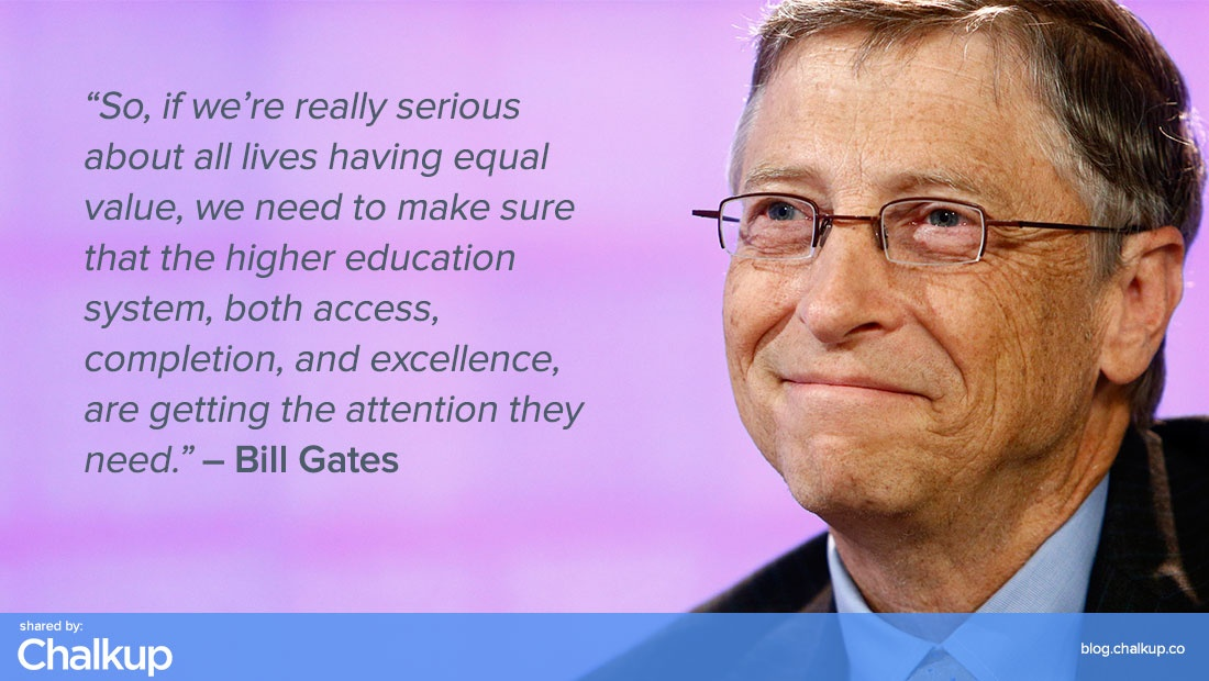 Bill Gates On Education Quote 6 Picture Quote #1