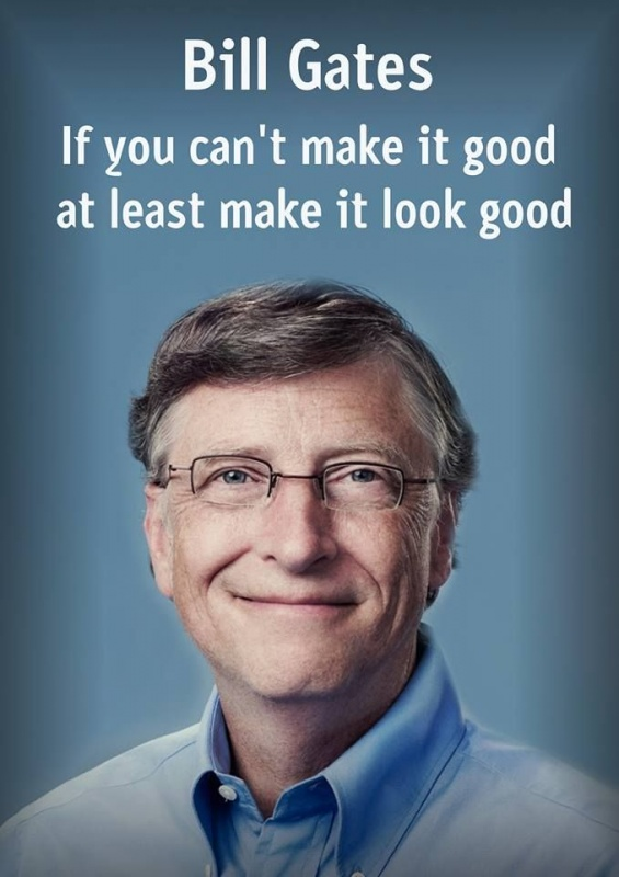 Bill Gates Motivational Quote 1 Picture Quote #1