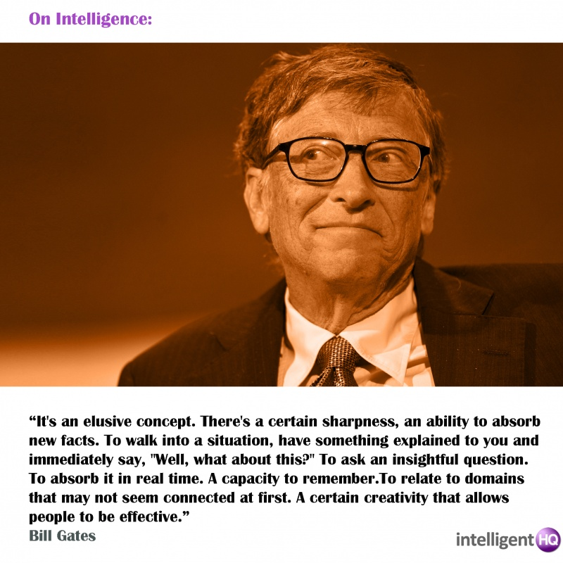 famous thinkers bill gates