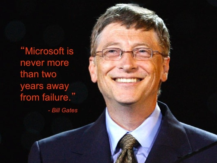 Bill Gates Quote 18 Picture Quote #1
