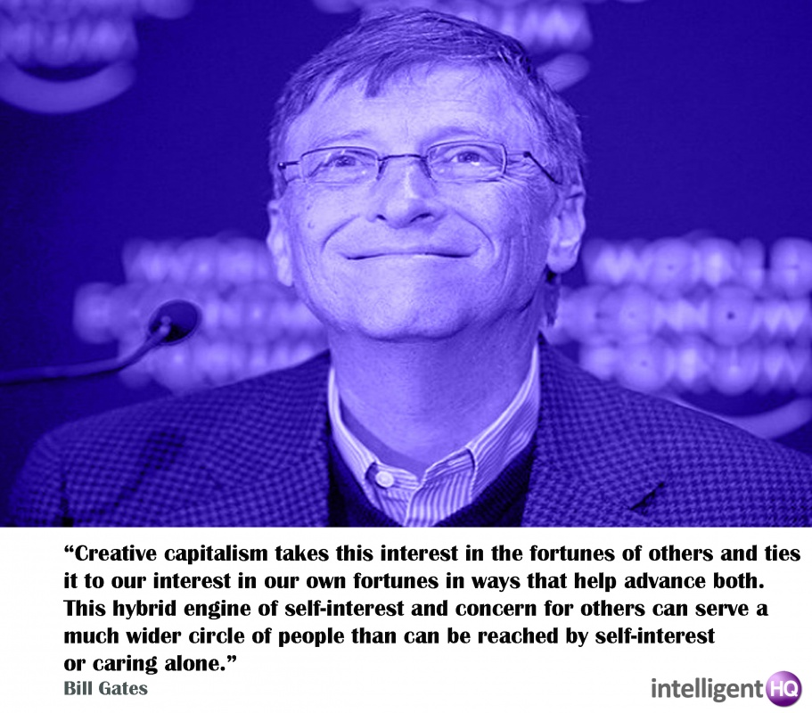 Bill Gates Quote On Creativity 1 Picture Quote #1