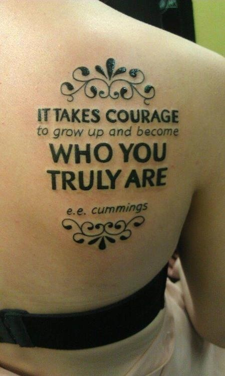 Who You Are Tattoo Quote 1 Picture Quote #1