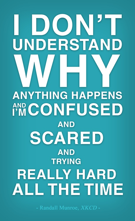 Confused About Life Quotes Fair Funny Confused Quote  Quote Number 563075  Picture Quotes
