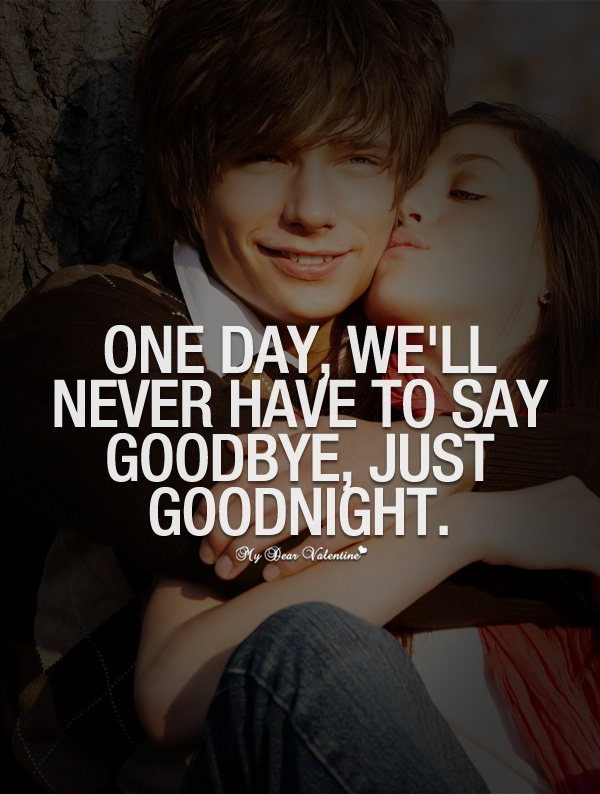 Romantic Goodbye Quote 1 Picture Quote #1