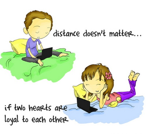 Cute Long Distance Relationship Quote 2 Picture Quote #1