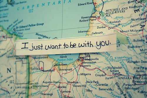 Romantic Long Distance Relationship Quote 1 Picture Quote #1