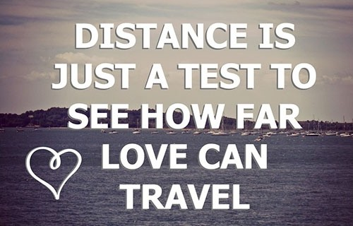 Romantic Long Distance Relationship Quote 4 Picture Quote #1