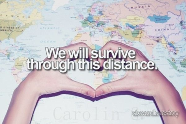 Long Distance Relationship Quote 6 Picture Quote #1