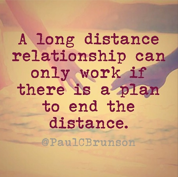 Long Distance Relationship Quote 18 Picture Quote #1