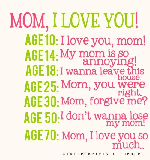 Funny Love Quote For Mom 1 Picture Quote #1