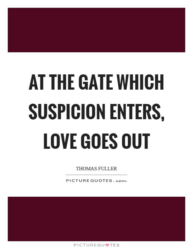 Suspicion Quotes | Suspicion Sayings | Suspicion Picture ...