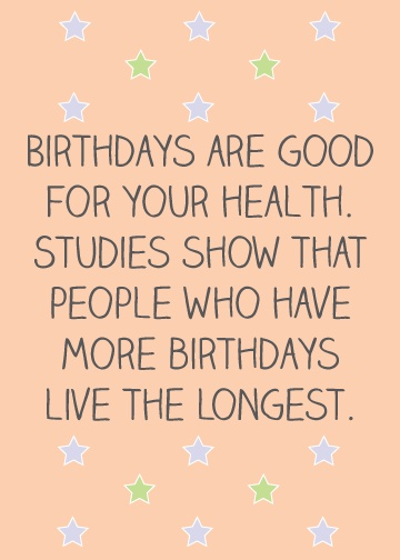 Funny Birthday Quote 3 Picture Quote #1