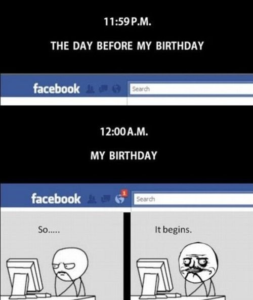 Facebook Funny Birthday Quote 2 Picture Quote #1