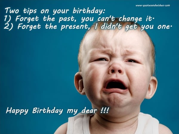 Funny Birthday Quote 12 Picture Quote #1