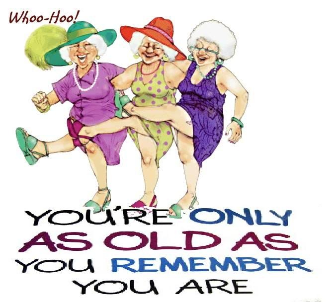 Old Funny Birthday Quote 1 Picture Quote #1
