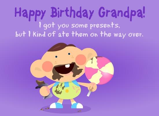 Funny Birthday Quote For Grandpa 2 Picture Quote #1