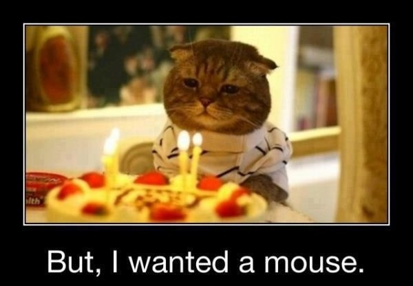 Funny Birthday Quote Cake 3 Picture Quote #1