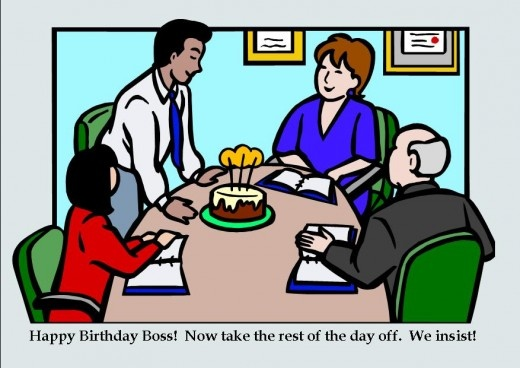 Funny Birthday Quote For Your Boss 1 Picture Quote #1