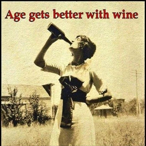 Wine Funny Birthday Quote 1 Picture Quote #1
