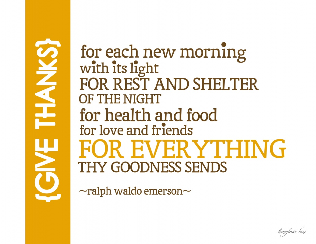 Thanksgiving Quote 1 Picture Quote #1