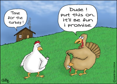 Funny Thanksgiving Quote 4 Picture Quote #1
