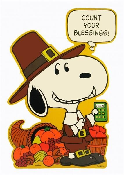 Charlie Brown Thanksgiving Quote 1 Picture Quote #1