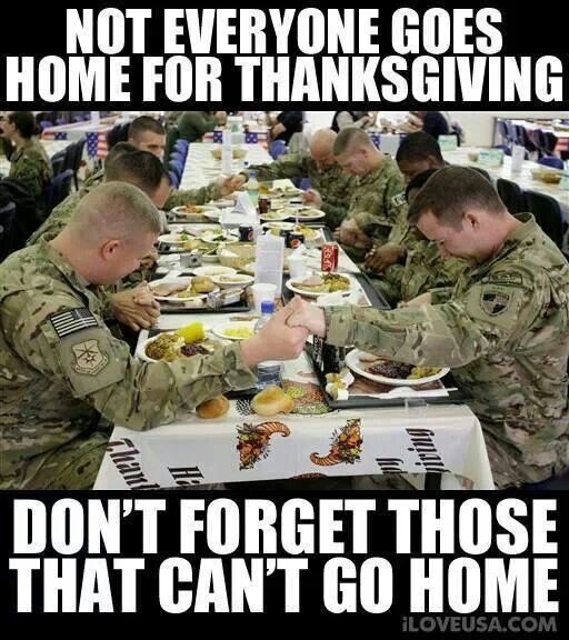 Thanksgiving Quote To Soldiers 1 Picture Quote #1