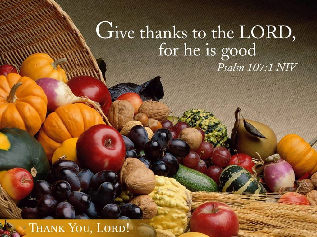 Thanksgiving Quote To The Lord 1 Picture Quote #1