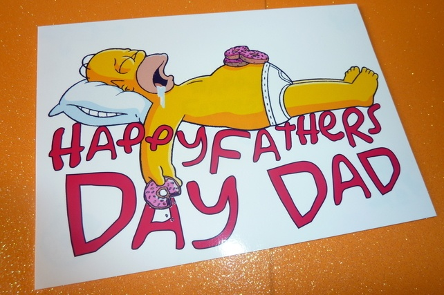 Homer Simpson Fathers Day Quote 1 Picture Quote #1