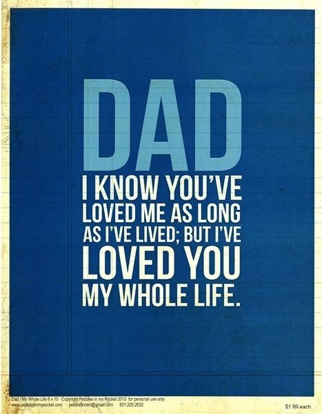 Daddys Girl Fathers Day Quote 3 Picture Quote #1