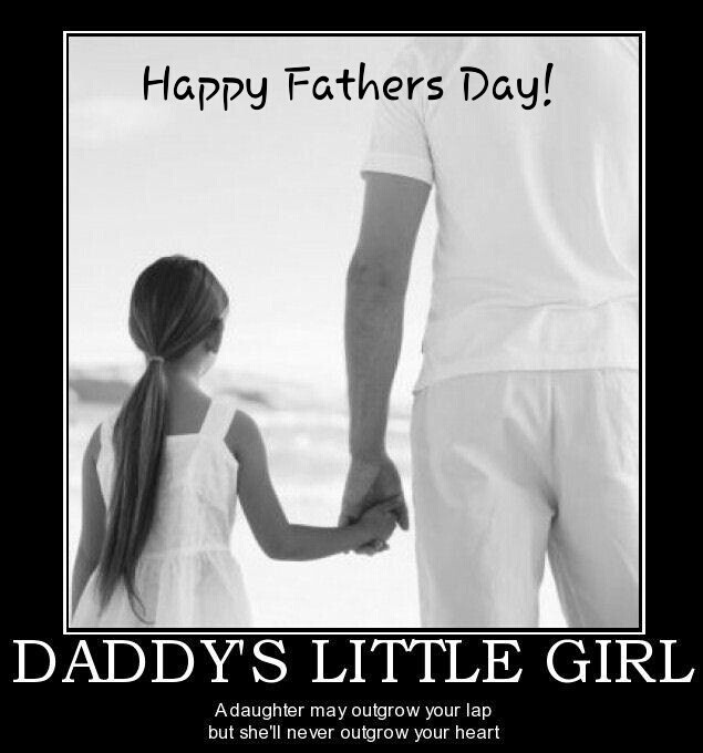 Daddys Girl Fathers Day Quote 4 Picture Quote #1