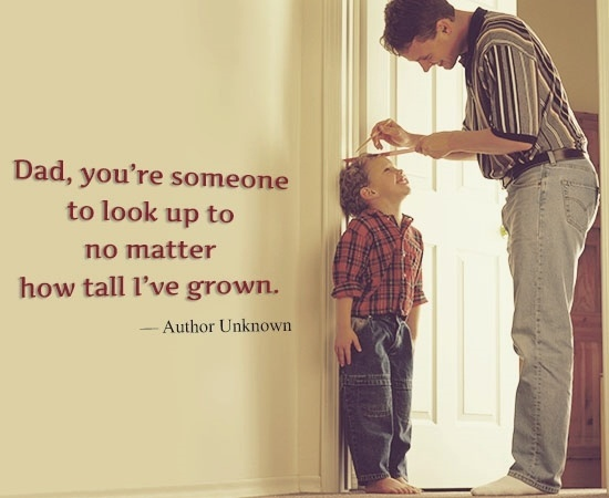 Fathers Day Quote From Son 1 Picture Quote #1