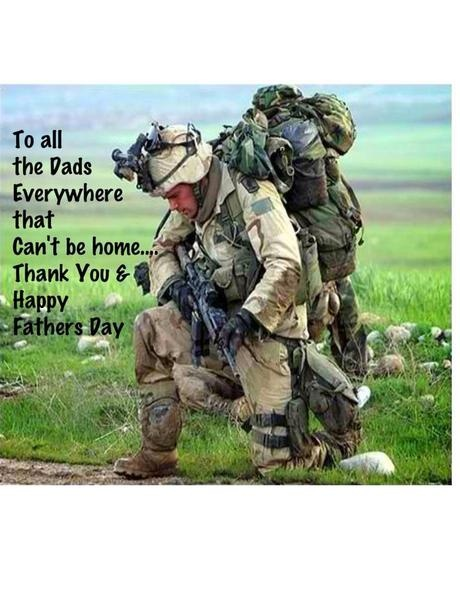 Military Fathers Day Quote 1 Picture Quote #1