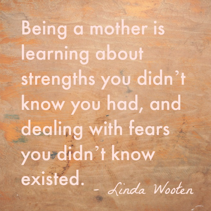 Being A Mother Quote 1 Picture Quote #1